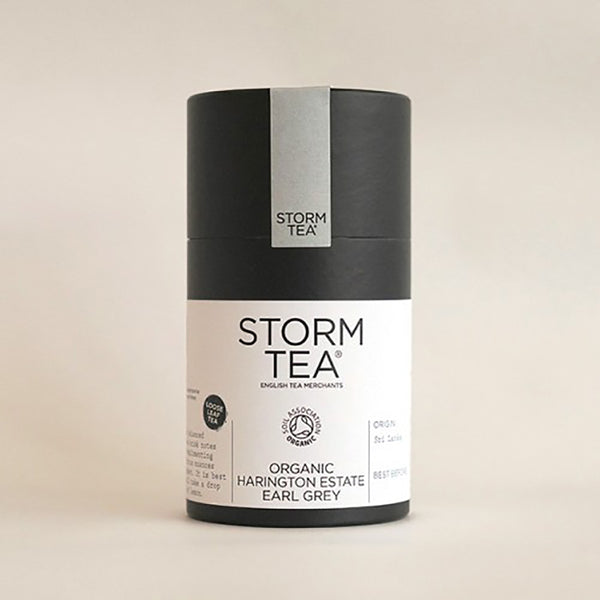 Storm - Harrington Estate Organic Earl Grey Tea - 100g Tin