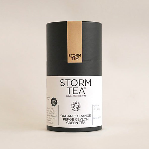 STORM - Orange Pekoe Organic Green Tea - 100g Tin