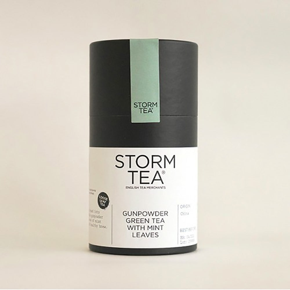 STORM - Gunpowder Green & Peppermint Tea - 100g Tin