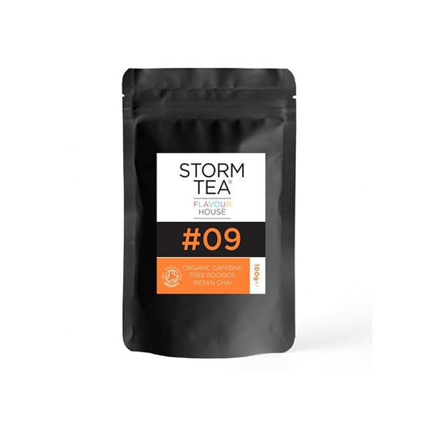 STORM - Organic Caffeine Free Rooibos Indian Chai  - 100g pouch