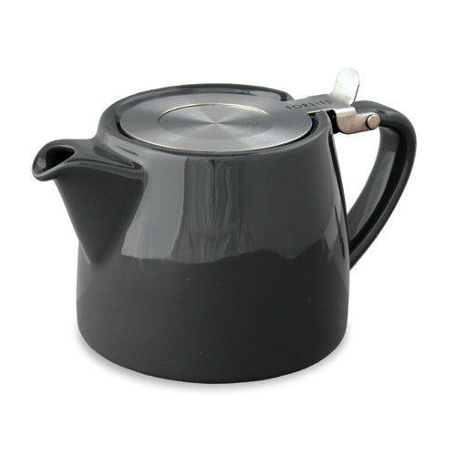 Forlife: Stump Teapot - Black (18oz / 530ml)