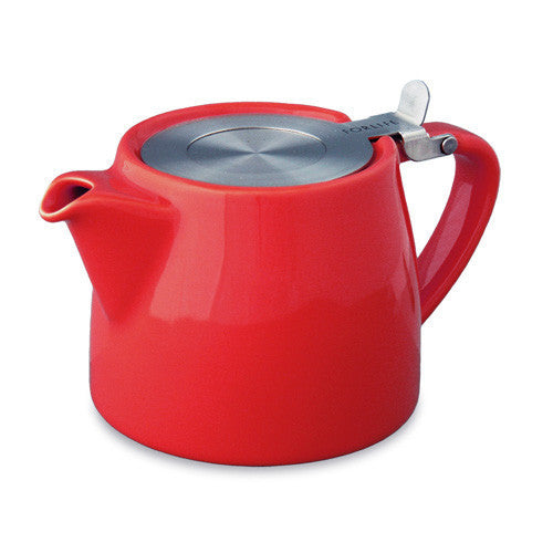 Forlife: Stump Teapot - Red (18oz / 530ml)