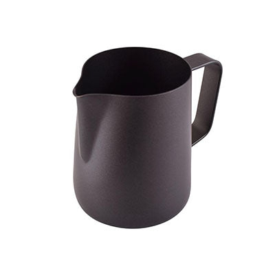 Classic Milk Pitcher - Stainless Steel Black Teflon - (12oz/340ml)