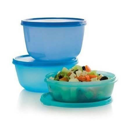 Tupperware Man UK: Space Saver Bowls 1L, 1.5L, 2L