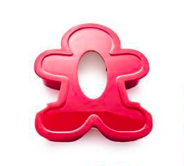Tupperware Man UK - Gingerbread Man cookie cutter
