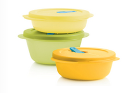 Tupperware Man UK - Crystalwave Reheatable Set (3)