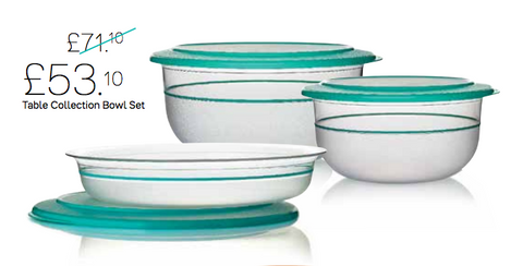 Table Collection Bowls Tropical Water