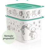 Tupperware Man UK - Baseline Canister set winter wonderland