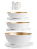 Tupperware Man UK - Allegra White and Gold