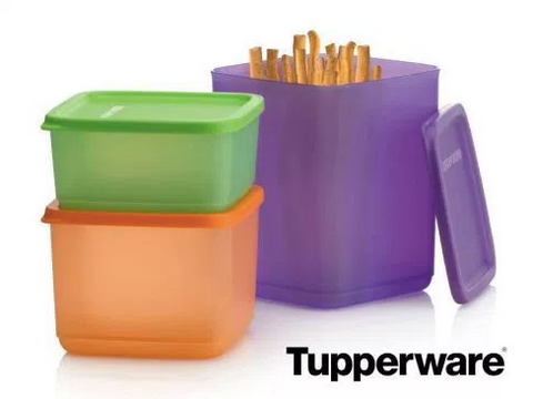 Tupperware Man UK - Cubix storage set (3)
