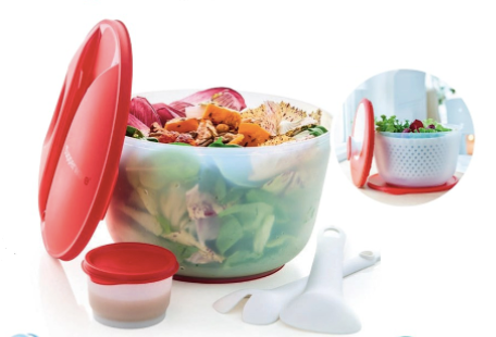 Tupperware Man UK - A28 Spinning Chef and A29 Jumbo Salad on the Go