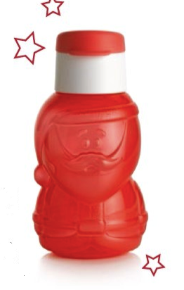 Tupperware Man UK - Fun Eco Bottle Santa Claus