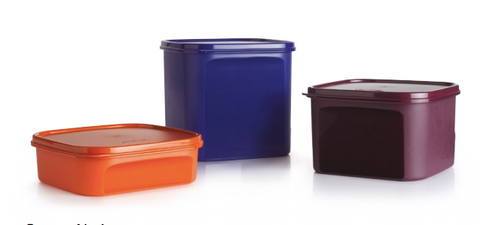 Tupperware Man UK - Space Saver Square storage set