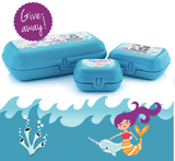Tupperware Man UK - Oyster Trio set Pirates and Mermaids