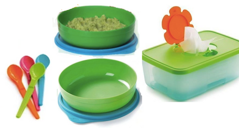 Tupperware Man UK - Baby Set