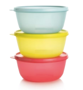 Tupperware Man UK - Space Saver Bowls set 1.5L (3)