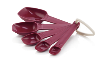 E68 Measuring Spoons (5) *NEW COLOUR*