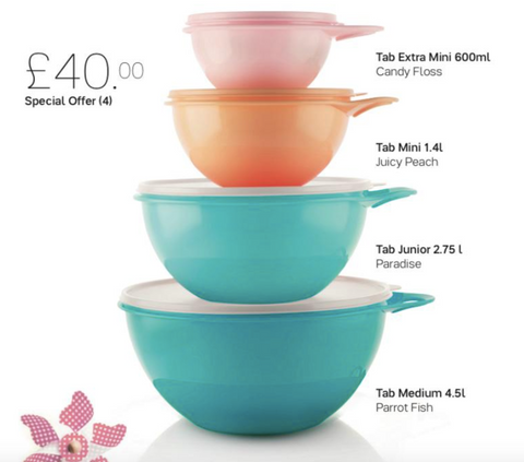 Tupperware Man UK - Thats a Bowl set