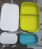 Tupperware Man UK - Slim Divided Lunchbox