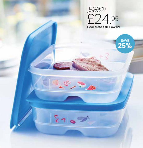 Tupperware Man UK - C41 Cool Mates Medium Low 1.8L