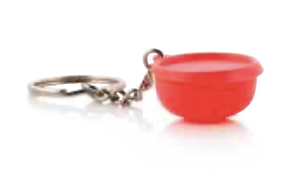 Tupperware Man UK - Blossom Bowl key chain