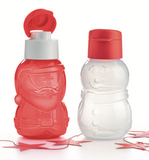 Fun Eco bottle Santa Claus  or Snowman 350ml