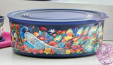 Tupperware Man UK - Baseline Cookie Canister Fortune Bird Peacocks
