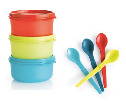 K22 Serving Cups 200ml + Hang On Spoons