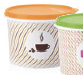 Round Canister 1.1L salt or coffee (2)
