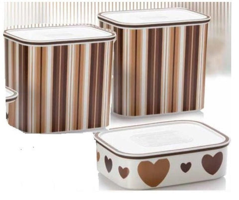 Tupperware Man UK - Baseline Canisters Chocolate