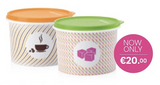 Tupperware Man UK - Coffee and Sugar Canisters