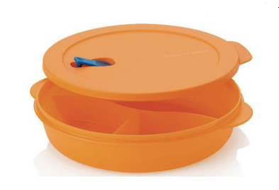 Tupperware Man UK - Crystalwave Divided Bowl