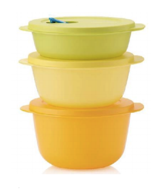 Tupperware Man UK - Crystalwave Reheatable Set Large (3)