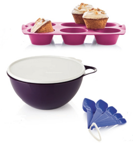 Tupperware Man UK - Cupcakes Baking Set