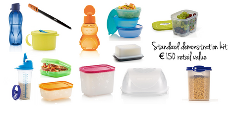 Register as a UK Tupperware demonstrator