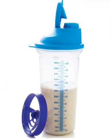 Ez Shaker 600ml Or 350ml Tupperware Man