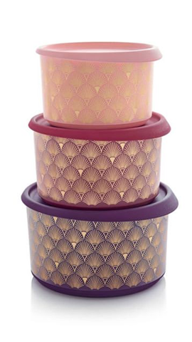 Tupperware Man UK - One Touch canister Gatsby design