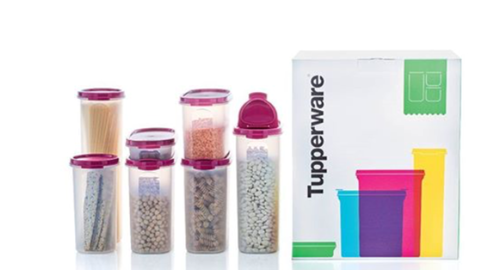 Tupperware Man UK - N12 Magnificent Pantry Set