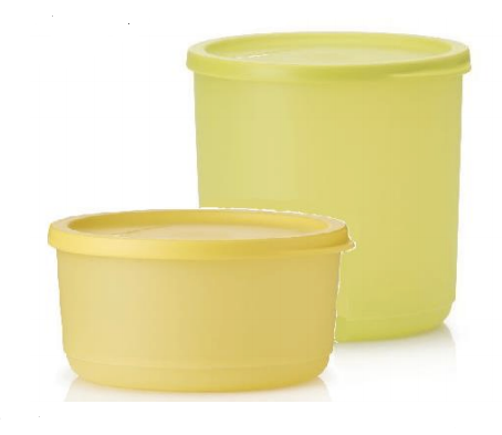 Tupperware Man UK - Stack Round canister set (2)