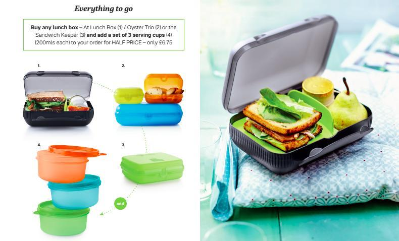 Tupperware Man UK - This month's special offers
