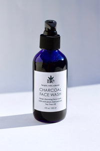Activated Charcoal Face Wash with Tea Tree Oil