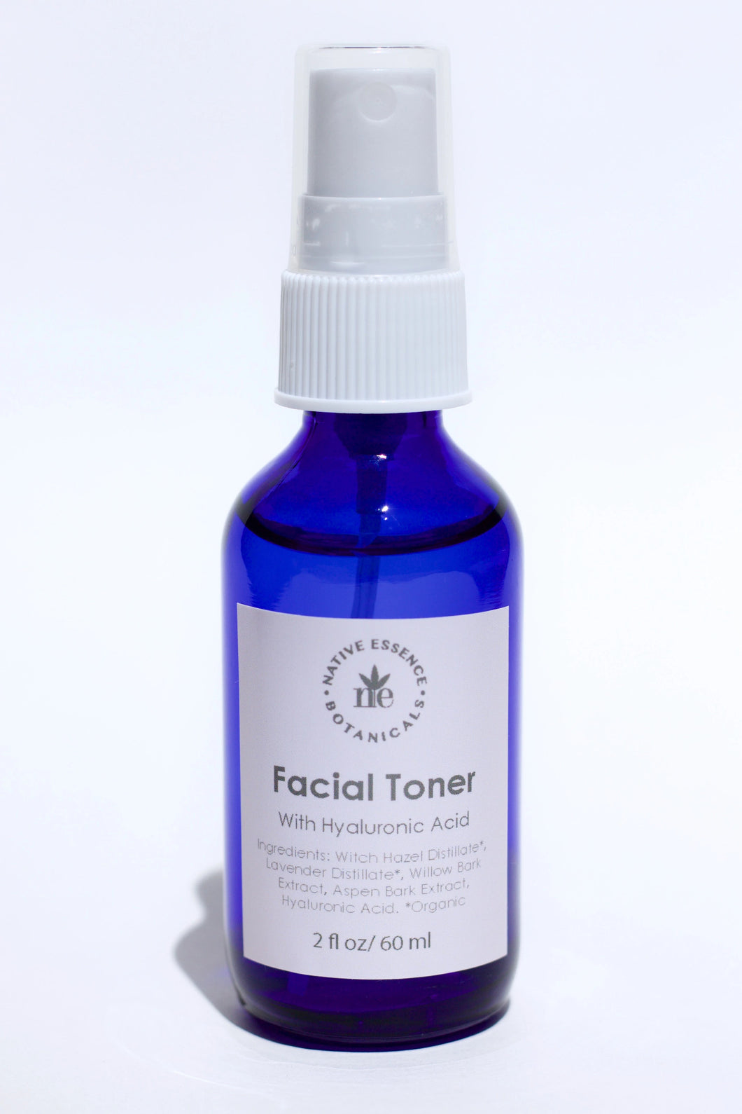 Witch Hazel Facial Toner with Hyaluronic Acid