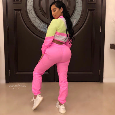 Revolt WB pants set (Pink)