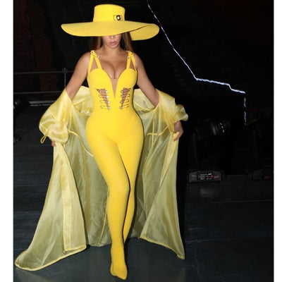 Yonce VS jumpsuit (Yellow)