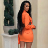 Mena skirt set (Orange)
