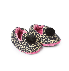 "Tiger-Fink Baby Slippers ""pink"""