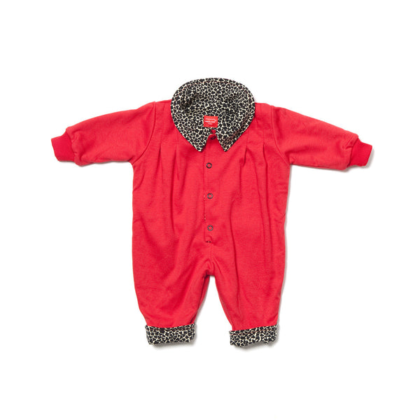 TIGER BABY OVERALL REVERSIBLE