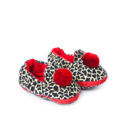 "Tiger-Fink Baby Slippers ""red"""