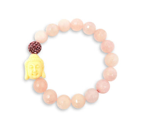Happy Buddha Rose Quartz