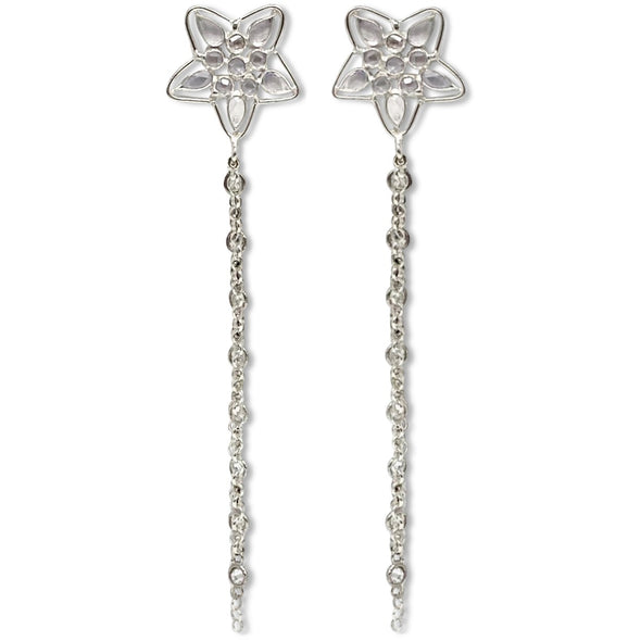 Stella Silver Earrings